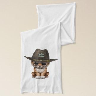 De leuke Sheriff van de Welp van de Tijger van het Sjaal