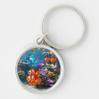 de leuke sleutelring van aquariumvissen sleutelhanger