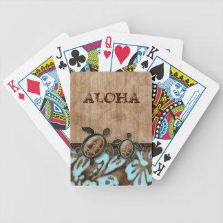 De leuke Speelkaarten van de Bloem van de Hibiscus Poker Kaarten