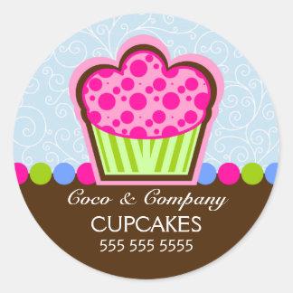 De leuke Stickers van de Bakkerij Cupcake