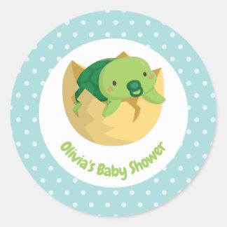De leuke Stickers van het Baby shower van de