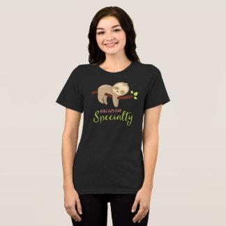 De leuke T-shirt die van de Luiaard Lui is Mijn