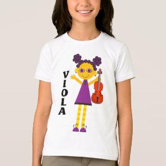 De leuke T-shirt van de Altviool van Meisjes