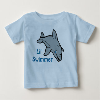 De leuke T-shirt van de Dolfijn van het Baby