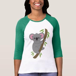 De leuke T-shirt van de Koala van de Cartoon