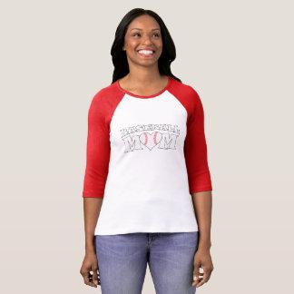 De leuke T-shirt van de Marge van het Hart van het