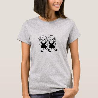 De leuke T-shirt van emoji beste vrienden