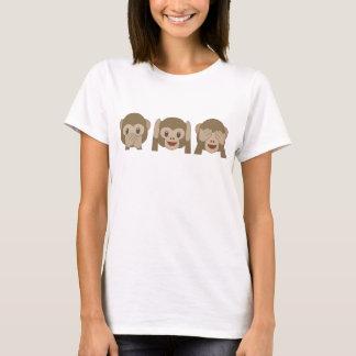De leuke T-shirt van Emoji van de Aap