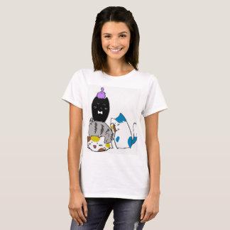 De leuke T-shirt van het Kat