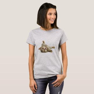 De leuke T-shirt van het Meisje van de Kat