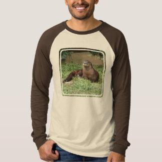 De leuke T-shirt van het Sleeve van het Mannen van