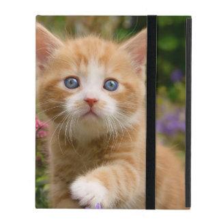 De leuke Tuin van het Katje van de Kat van de iPad Hoesje