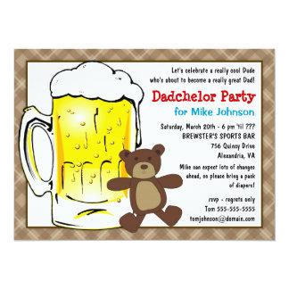 De leuke Uitnodigingen van de Partij Dadchelor -