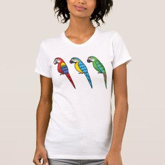 De leuke Vogels van de Papegaai van de Ara van de