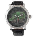 De leuke Vrachtwagen van het Afval van de Horloge