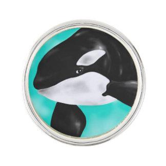 De leuke Walvis van de Orka Reverspeld