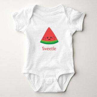 De leuke Watermeloen van de Schat voor het Meisje Romper
