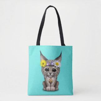 De leuke Welp van de Lynx van de Hippie Draagtas