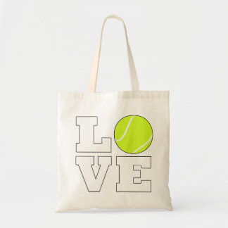 De leuke Zak van de Liefde van het Tennis voor de Draagtas