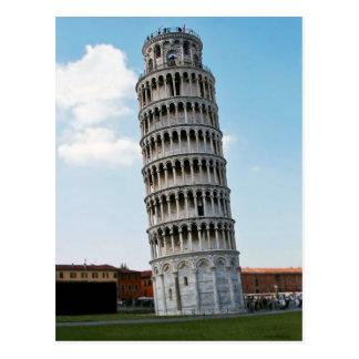 De leunende Toren van Pisa 2 Briefkaart