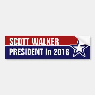 De Leurder van Scott in 2016 Bumpersticker