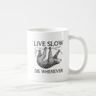 De Levende Langzame Grappige Mok van de luiaard
