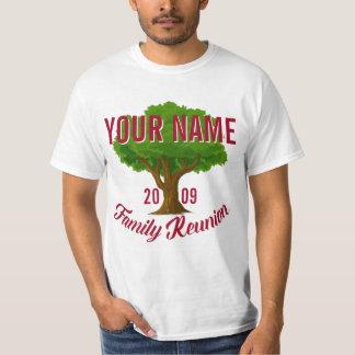 De levendige Boom Gepersonaliseerde Bijeenkomst T Shirt