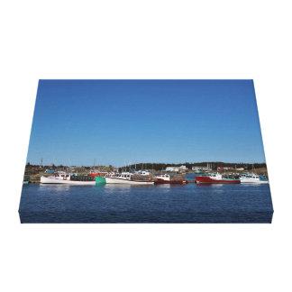 De Levensstijl van Nova Scotia Canvas Afdrukken