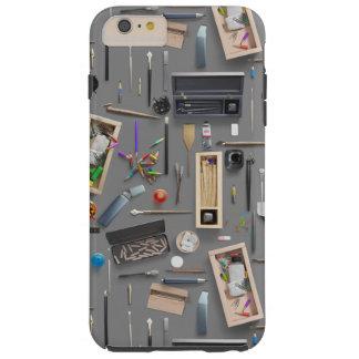 De levering van de kunstenaar tough iPhone 6 plus hoesje