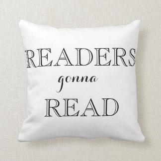 De lezers die gaan lezen werpen Hoofdkussen Sierkussen