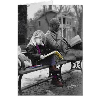 De lezers verheugen zich! Echt Kinder Collectie. Briefkaarten 0