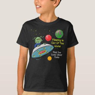 De lezing is uit Deze Wereld T Shirt