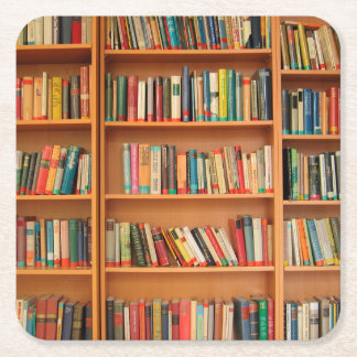 De Lezing van de Boekenwurm van de Bibliotheek van Vierkante Onderzetter