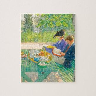 De Lezing van de vakantie door Carl Larsson Puzzel
