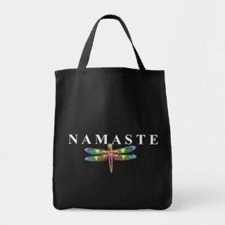De Libel van Namaste (Donkere Achtergrond) Draagtas