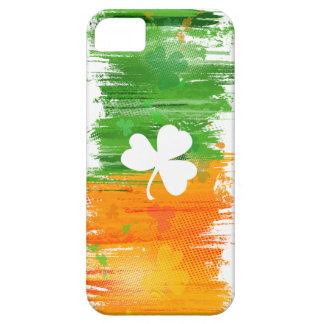 De lichte Gelukkige Klavers & de Inkt van de Padie Barely There iPhone 5 Hoesje