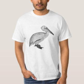 De Lichte T-shirt van de vintage Pelikaan
