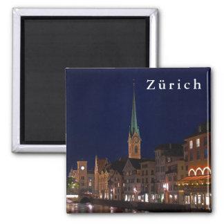 De lichten van avond Zürich Magneet