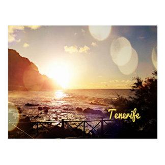 De Lichten van de Avond van Tenerife Briefkaart