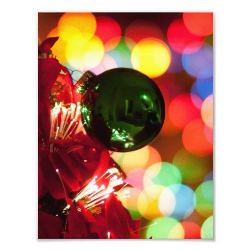 De Lichten van de Kerstboom van de Decoratie van d Footprint