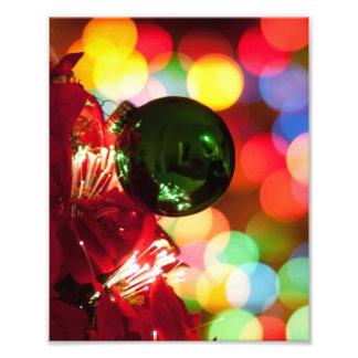 De Lichten van de Kerstboom van de Decoratie van d Foto