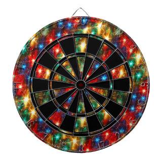 De Lichten van Kerstmis Dartbord