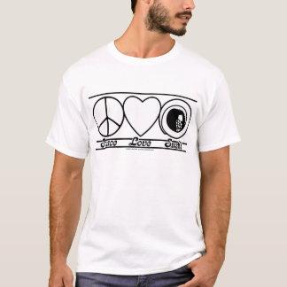 De Liefde en de Sushi van de vrede T Shirt