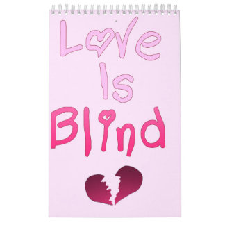 De liefde is Blind Kalender