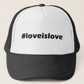 De liefde is de Kleding van de Steun van de Liefde Trucker Pet