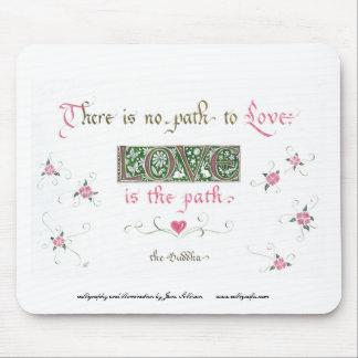 de liefde is de weg muismatten
