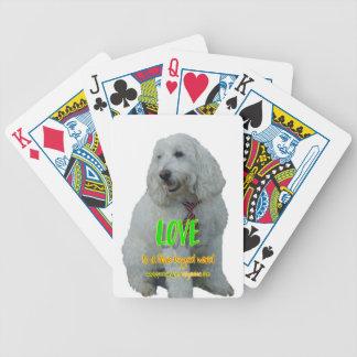 De liefde is een legged woord vier pak kaarten
