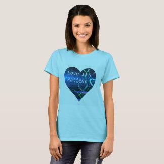 De liefde is Geduldig T-shirt