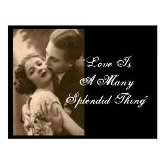 """De """"liefde is het Briefkaart velen van het Schitte"""