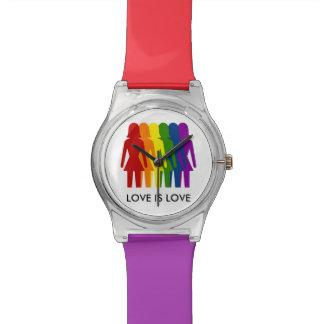 De liefde is het Horloge van de Regenboog van de